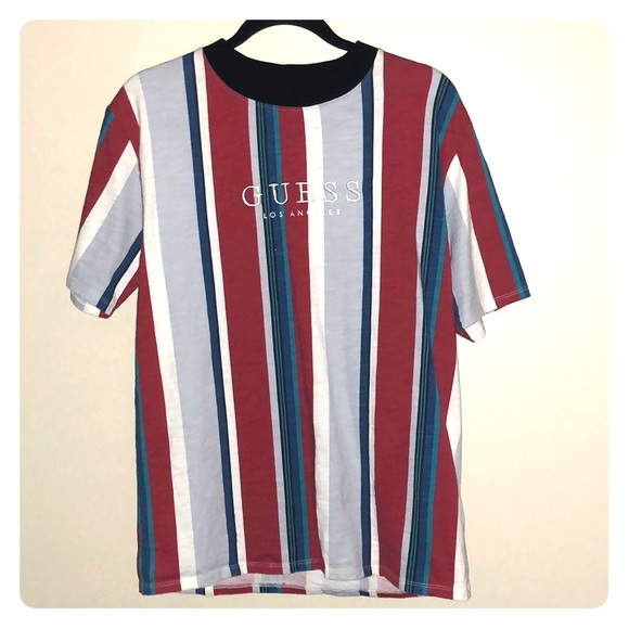 6294955072b6 GUESS Originals Sayer Striped Tee Striped tee Tees Mens tops